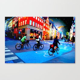 BikeCycle Canvas Print
