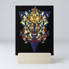 Golden Tutankhamun - Pharaoh's Mask Mini Art Print