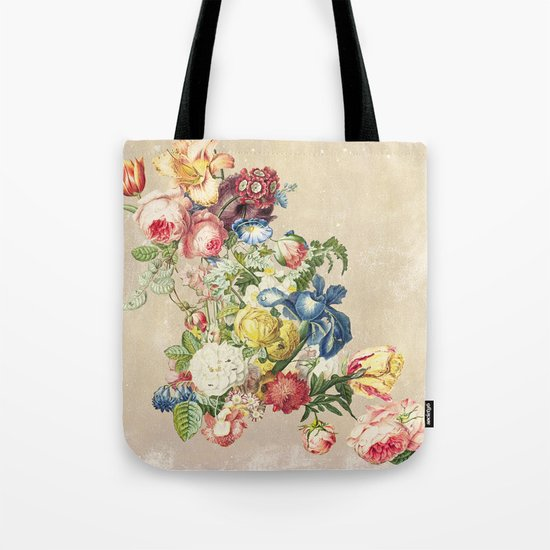 Floral tribute to Louis McNeice (Light) Tote Bag
