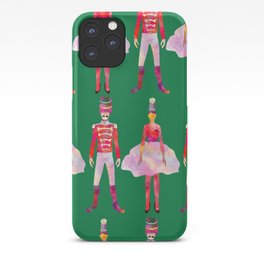 Nutcracker Ballet - Candy Cane Green iPhone Case