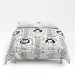 Science Women Toile de Jouy Comforters