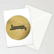 Passionately Curious Stationery Cards