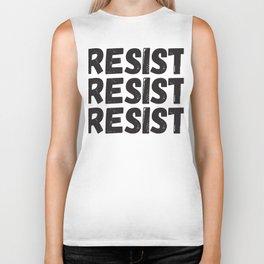 Resist Resist Resist Biker Tank