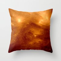 copper Throw Pillows featuring Copper by 2sweet4words Designs
