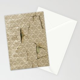 OLD WALLPAPER Stationery Cards