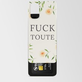 Fuck toute Android Card Case