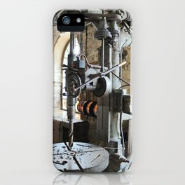 Heavy Industry - Drilling Machine iPhone Case
