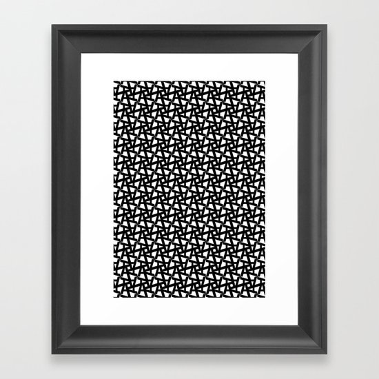 A_pattern Framed Art Print