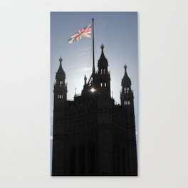Good Morning, London Canvas Print