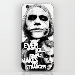 Agent of Chaos iPhone Skin