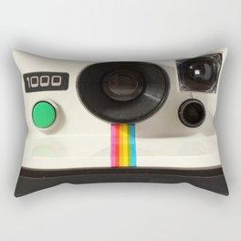 Retro 80's objects - Instant Camera Rectangular Pillow