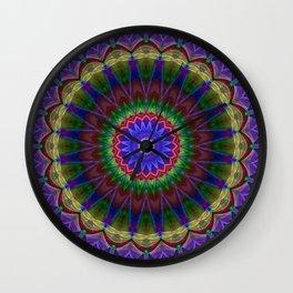 Mandala Colorexplosion Wall Clock