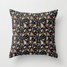 Liberty Paisley Throw Pillow