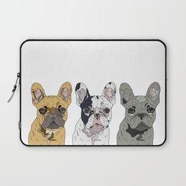 Triple Frenchies Laptop Sleeve