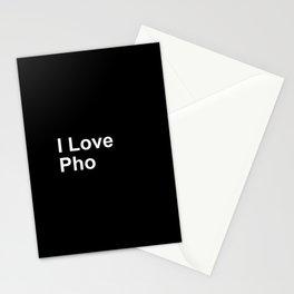 I Love Pho Stationery Cards