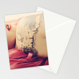 Haunted House Tattoo Stationery Cards