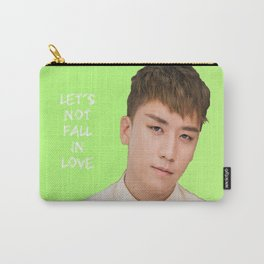 Bigbang MADE Let's Not Fall In Love Seungri Carry-All Pouch
