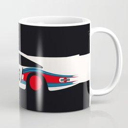 Moby Dick - Vintage Porsche 935/70 Le Mans Race Car Coffee Mug