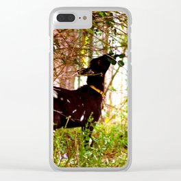 Lunch Time! Clear iPhone Case