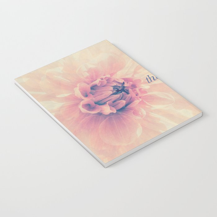 Spring Dahlia I - Her Smile Notebook