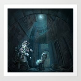 Hey Diddle diddle Art Print