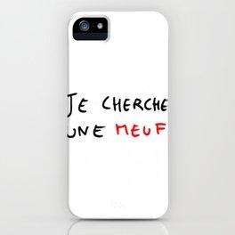 Diogene 2 Je cherche une meuf iPhone Case