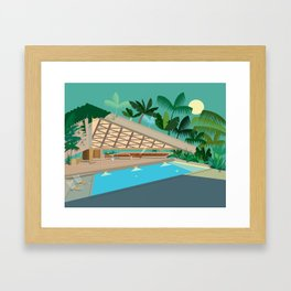 That Jackie Treehorn Home! Framed Art Print