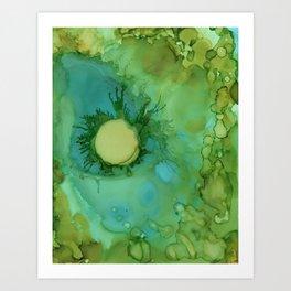 Bright Sea 1 Art Print