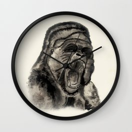 Gorilla Ink Wall Clock