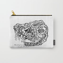 Going Places abstract creature doodle Carry-All Pouch