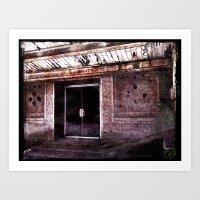 silent hill Art Prints featuring Silent Hill by Damn_Que_Mala