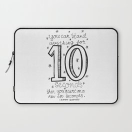 10 seconds Laptop Sleeve