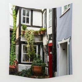 Hanseatic town Bremen - Schnoor Viertel Wall Tapestry