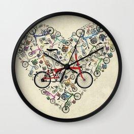 I Love Brompton Bikes Wall Clock