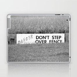 Marsh Danger Sign Laptop & iPad Skin