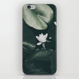 Nymphaea Alba iPhone Skin