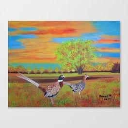 Country side (North Dakota) Canvas Print