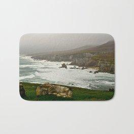 Emerald Isle-NW Irish Coast Bath Mat