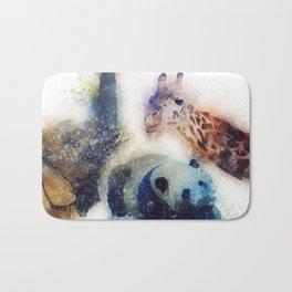 Animals Painting Bath Mat