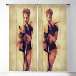 Thelma Todd, Vintage Actress Blackout Curtain