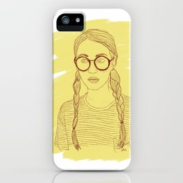 Ms Sunshine iPhone Case