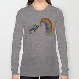 Rainbow Baby Elephant Langarmshirt