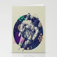 infinity Stationery Cards featuring INFINITY by Steven Kline