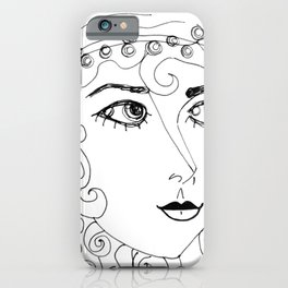 Gypsy Woman iPhone Case