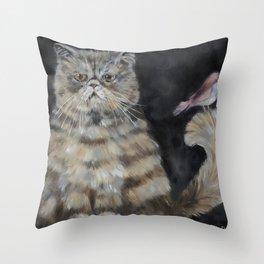 Exotic Birdie Throw Pillow