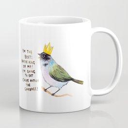 trash bird self affirmations Coffee Mug