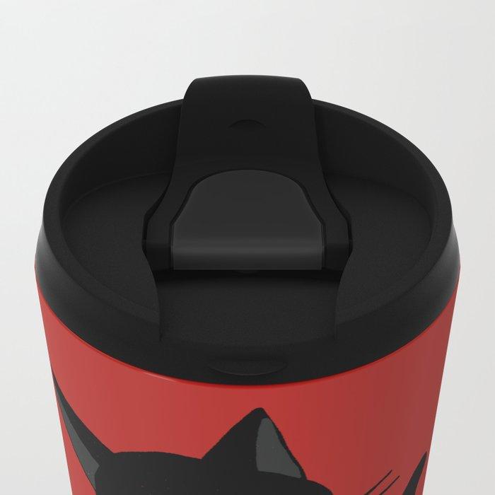Go ahead please Metal Travel Mug