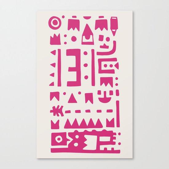 Pattern v8 Canvas Print