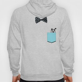 Bow tie and pocket Hoody