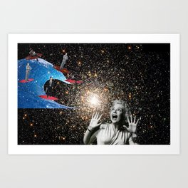the corporations are coming! Art Print
